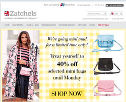 Zatchels Discount Code 2018