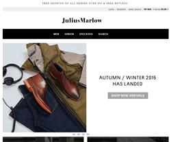 Julius Marlow Promo Codes & Coupons