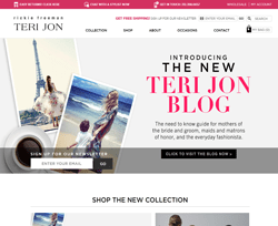 Teri Jon Coupon 2018