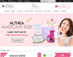 Althea Promo Codes 2018