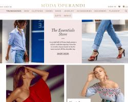 Moda Operandi Promo Codes 2018