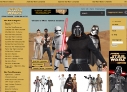 Official Star Wars Costumes Promo Codes 2018