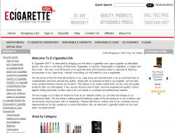 E-Cigarette USA Promo Codes