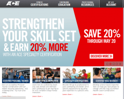 ACE Fitness Promo Codes 2018