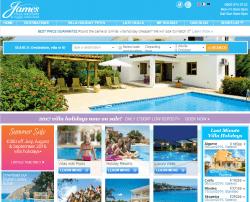 James Villa Holidays Discount Code