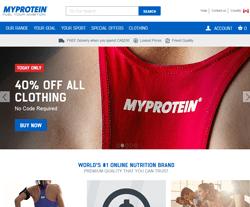 Myprotein Discount Codes 2018