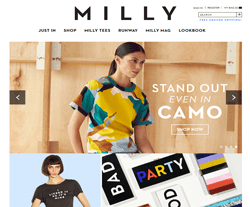 Milly Promo Codes 2018