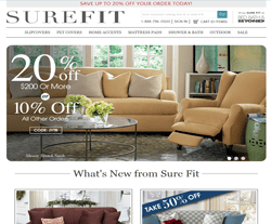 SureFit Promo Codes & Coupons