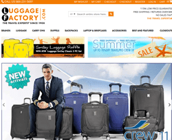 Luggage Factory Promo Codes 2018