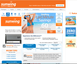 SunWing Promo Codes