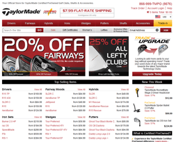 TaylorMade Pre-Owned Promo Codes