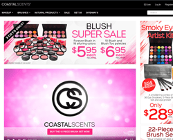 Coastal Scents Promo Codes 2018