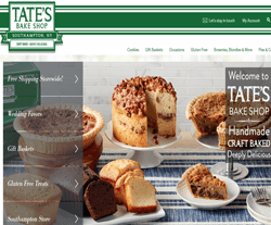 Tate's Bake Shop Coupon Codes 2018