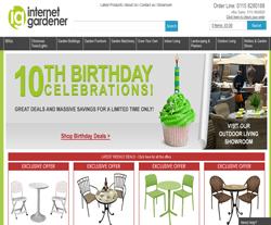 Internet Gardener Discount Code