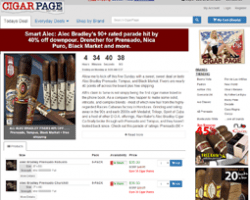 Cigar Page Coupon Codes
