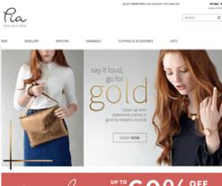 Pia Jewellery Discount Code