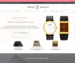 True Facet Promo Codes 2018