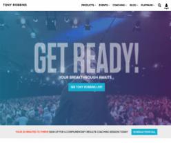 Tony Robbins Promo Codes 2018