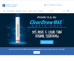 White Cloud Electronic Cigarettes Promo Codes