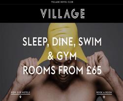 Village Hotels Voucher Code