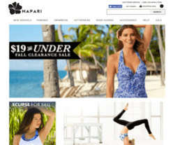 Hapari Coupons 2018