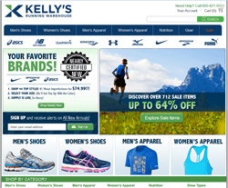 Kelly's Running Warehouse Coupons 2018
