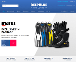 Deep Blue Dive Discount Codes 2018