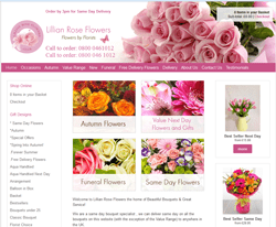 Lillian Rose Flowerss