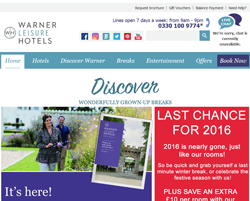 Warner Leisure Hotels Discount Code 2018