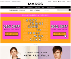 Marcs Promo Codes 2018
