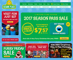 Sesame Place Coupons 2018