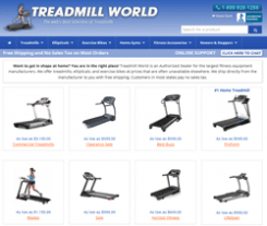 Treadmill-World Coupon