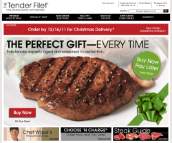 The Tender Filet Promo Code