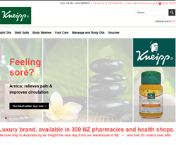 KNEIPP Coupon 2018