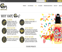 Om Vapors Coupons
