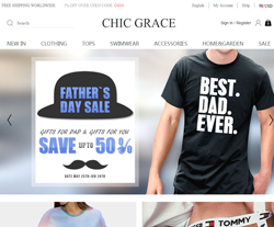 ChicGrace Promo Codes 2018