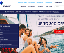 Pimsleur Promo Codes 2018