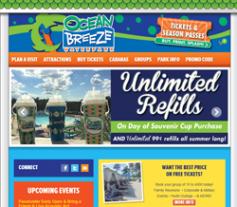 Ocean Breeze Waterpark Coupons