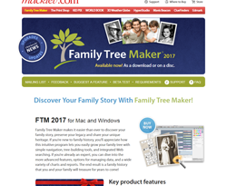 Family Tree Maker Coupons