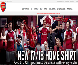 The Arsenal Direct Discount Codes