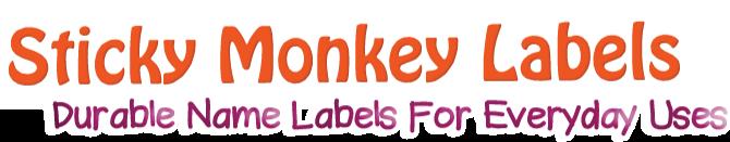Sticky Monkey Labels