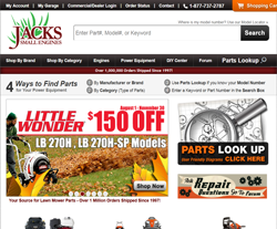 Jacks Small Engines Coupon Codes