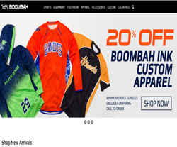 Boombah Promo Codes 2018