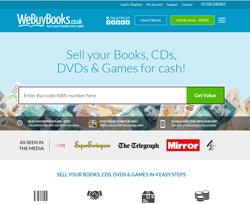 We Buy Books Voucher Codes 2018