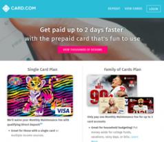 Card.com Promo Codes 2018