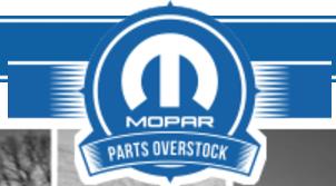 Mopar Parts Overstock