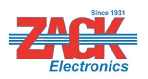 Zack Electronics promo codes