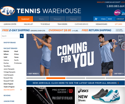 Tennis Warehouse Coupon Codes