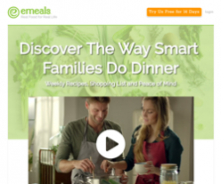 eMeals Coupon 2018