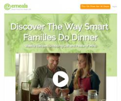 eMeals Coupon 2018